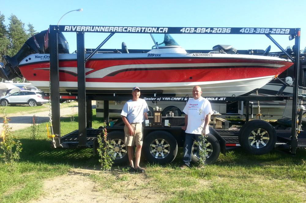 Impressive Outboard Speedboat Delivered To Medicine Hat Alberta