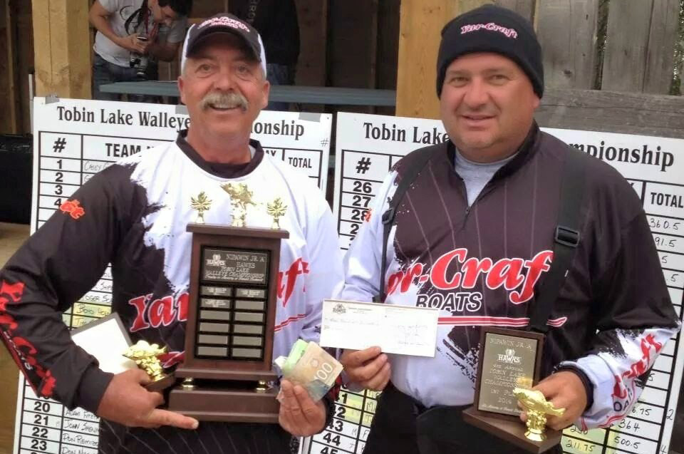 Oldman River Walleye Fishing Tournament Winner
