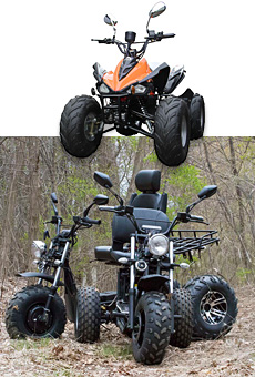 Daymak Three & Four Wheeler Scooters ATV Taber Alberta