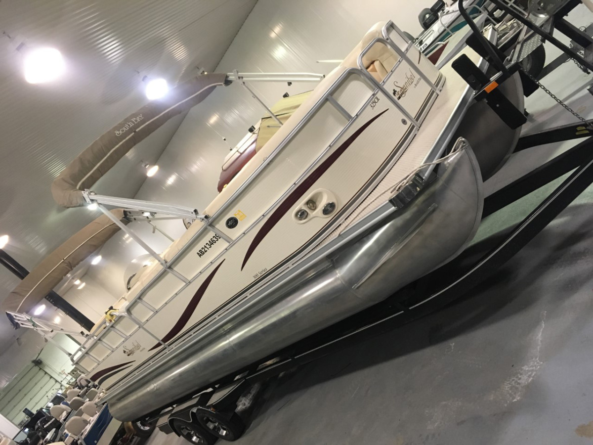 2007 Sanibel 325CR South Bay Pontoon Boat